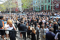 Chris Hondros Memorial Service in Brooklyn (USA)