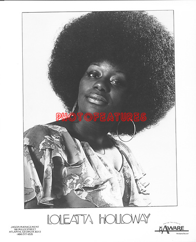 Loleatta Holloway..photo from promoarchive.com/ Photofeatures....