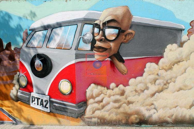 Street Art-Graffittis.<br /> Castellar del Valles.