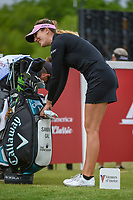 Sandra Gal (DEU) prepares to tee off on 1 before round 1 of  the Volunteers of America LPGA Texas Classic, at the Old American Golf Club in The Colony, Texas, USA. 5/4/2018.<br /> Picture: Golffile | Ken Murray<br /> <br /> <br /> All photo usage must carry mandatory copyright credit (&copy; Golffile | Ken Murray)