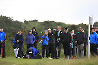Emily Toy (ENG) on the 7th tee during the Matchplay Final of the Women's Amateur Championship at Royal County Down Golf Club in Newcastle Co. Down on Saturday 15th June 2019.<br /> Picture:  Thos Caffrey / www.golffile.ie