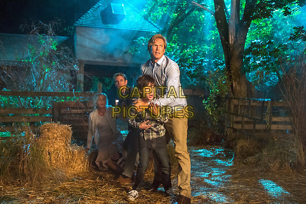 Rachael Carpani, Jedidiah Goodacre, Jason Lewis and Mason Cook <br /> in If There Be Thorns (2015) <br /> *Filmstill - Editorial Use Only*<br /> CAP/FB<br /> Image supplied by Capital Pictures
