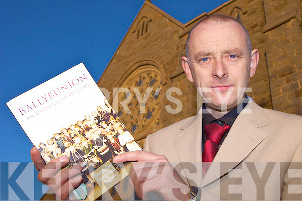 LOOKING BACK: Danny Houlihan from Ballybunion who has published a new illustrated history of the town.