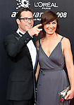 Guy Pearce and wife Kate at the 2008 AFI Awards from the Princess Theatre Melbourne Saturday 6th December 2008