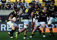 Thomas Waldrom in action during the Mitre 10 Cup rugby match between Wellington Lions and Otago at Westpac Stadium in Wellington, New Zealand on Sunday, 19 August 2018. Photo: Dave Lintott / lintottphoto.co.nz