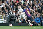Real Madrid CF's Gareth Bale  and FC Barcelona's Arthur Melo during La Liga match. March 02,2019. (ALTERPHOTOS/Alconada)