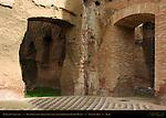 Baths of Caracalla West Palaestra (Greek Wrestling Room) Floor Mosaic Aventine Hill Rome