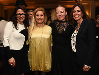 PASADENA, CA - JANUARY 17: (L-R) President, National Geographic Global Television Networks Courteney Monroe, The Cave Producers Sigrid Dyekjaer and Kristine Barfod, and Executive Vice President, Global Scripted Content and Documentary Films at National Geographic Carolyn Bernstein attend the National Geographic 2020 TCA Winter Press Tour Party at the Langham Huntington on January 17, 2020 in Pasadena, California. (Photo by Frank Micelotta/National Geographic/PictureGroup)