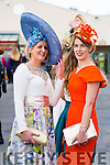 Nollaig McCarthy, Finuge and Catherine Keane, Listowel pictured at Ladies day at Galway Races on Thursday.