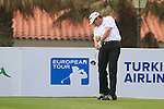 Jason Knutzon (EUSA) tees off on the 1st tee during Day 2 Friday of the Open de Andalucia de Golf at Parador Golf Club Malaga 25th March 2011. (Photo Eoin Clarke/Golffile 2011)