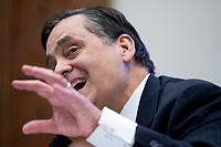George Washington University Law School Law Professor Jonathan Turley testifies during the US House Natural Resources Committee hearing on 'The US Park Police Attack on Peaceful Protesters at Lafayette Square', on Capitol Hill in Washington, DC, USA, 29 June 2020. The death of George Floyd while in Minneapolis police custody has sparked protests demanding policing reform and racial equality. Amidst protests authorities cleared Lafayette Square, 01 June 2020, before US President Donald J. Trump walked across the park and visited St. John's Church.<br /> Credit: Michael Reynolds / Pool via CNP / MediaPunch