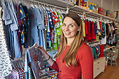 Lucy Sheard, Izzy Jones children's boutique and craft studio, Kilburn Lane