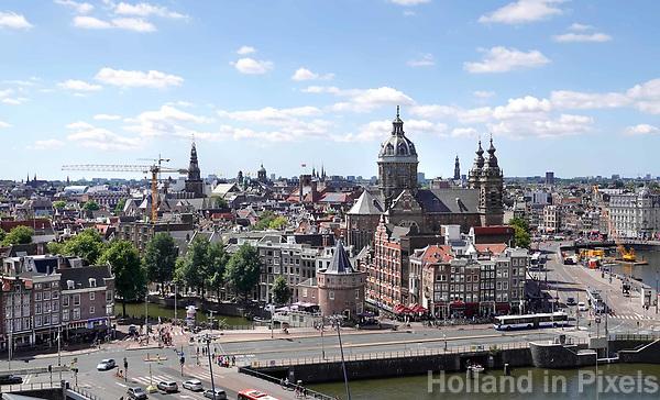 Nederland - Amsterdam - 2018. De Prins Hendrikkade.   Foto Berlinda van Dam / Hollandse Hoogte.
