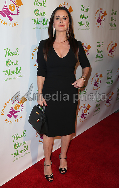 "05 October 2017 - Los Angeles, California - Kyle Richards. ""The Road To Yulin And Beyond"" Los Angeles Premiere. Photo Credit: F. Sadou/AdMedia"