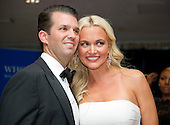 Donald Trump Jr., left, and Vanessa Haydon Trump arrive for the 2016 White House Correspondents Association Annual Dinner at the Washington Hilton Hotel on Saturday, April 30, 2016.<br /> Credit: Ron Sachs / CNP<br /> (RESTRICTION: NO New York or New Jersey Newspapers or newspapers within a 75 mile radius of New York City)