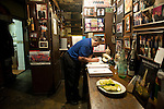 Matias Gorrotxategi, owner of Casa Julian restaurant in Tolosa, works on December 19, 2014, Basque Country. Matias Gorrotxategi and his son Xabier work in their restaurant of Tolosa. Casa Julian is specialized in grilled cutlet and too serve piquillo peppers, asparagus of Lodosa and lettuce hearts.(Ander Gillenea / Bostok Photo)