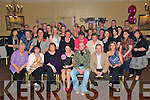 21st Party. Christina Kennelly, centre front, from Listowel celebrating her 21st Birthday with her family and friend at the Listowel Arms Hotel on Friday night.