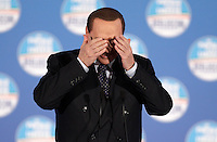 20130207 ROMA-POLITICA: BERLUSCONI PRESENTA LE LISTE DEL PDL NEL LAZIO