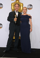 28 February 2016 - Hollywood, California - Mark Rylance, Patricia Arquette. 88th Annual Academy Awards presented by the Academy of Motion Picture Arts and Sciences held at Hollywood & Highland Center. Photo Credit: Byron Purvis/AdMedia