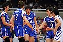 Toray Arrows team group, Yusuke Imada (Arrows), MARCH 6, 2011 - Volleyball : 2010/11 Men's V.Premier League match between Oita Miyoshi Weisse Adler 1-3 Toray Arrows at Tokyo Metropolitan Gymnasium in Tokyo, Japan. (Photo by AZUL/AFLO)