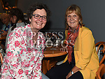 Nuala Early and Noreen Donnelly at the Purple Sessions 10th Anniversary gig in the Droichead Arts Centre. Photo:Colin Bell/pressphotos.ie
