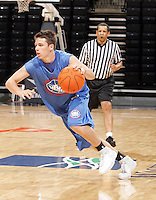 1/2G Andy Burns (Minnetonka, MN / Minnetonka) moves the ball during the NBA Top 100 Camp held Friday June 22, 2007 at the John Paul Jones arena in Charlottesville, Va. (Photo/Andrew Shurtleff)