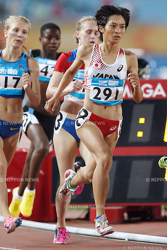 Hina Takahashi (JPN), <br /> AUGUST 20, 2014 - Athletics : <br /> Women's 800m Preliminary <br /> at Nanjing Olympic Sports Center <br /> during the 2014 Summer Youth Olympic Games in Nanjing, China. <br /> (Photo by AFLO SPORT)