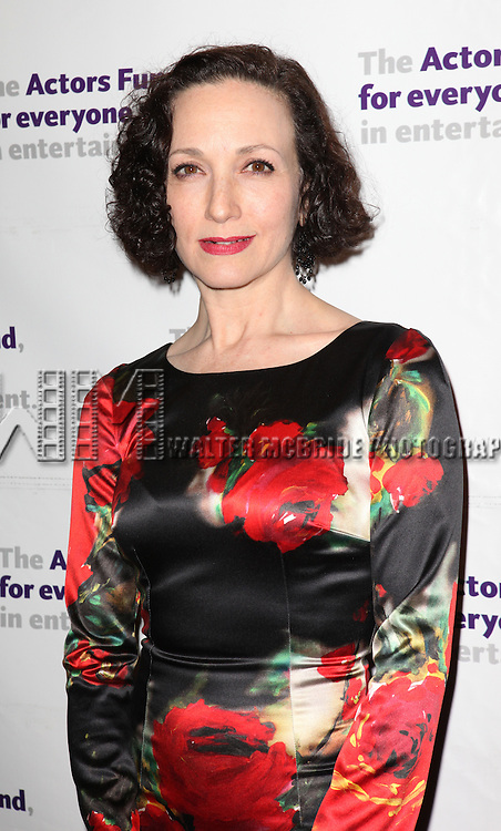 Bebe Neuwirth.attending the Actors Fund Gala honoring Harry Belafonte, Jerry Stiller, Anne Meara & David Steiner at the Mariott Marquis Hotel in New York City on 5/21/12