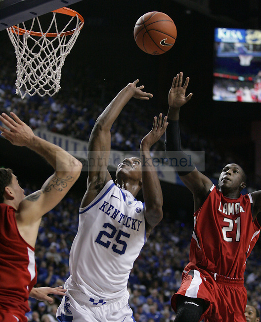 Freshman guard Marquis Teague in the second half of UK's win over  Lamar University at Rupp Arena, on Wednesday, Dec. 28, 2011. Photo by Latara Appleby | Staff ..