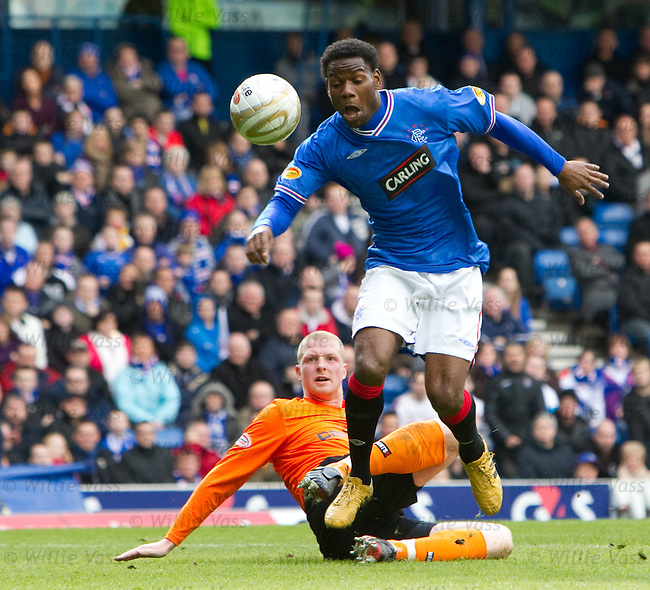 Maurice Edu and Garry Kenneth