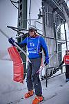 Challenge Mer et Montagne 2012, Saint Gervais les Bains, Mont Blanc, Haute Savoie, France..Ski Super Geant..Fred Lepeutrec