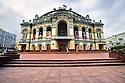 The Taras Shevchenko Ukrainian National Opera House, Kiev. October, 2012.