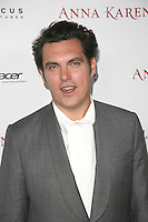 HOLLYWOOD, CA - NOVEMBER 14: Joe Wright at the premiere of Focus Features' 'Anna Karenina' held at ArcLight Cinemas on November 14, 2012 in Hollywood, California. Credit: mpi28/MediaPunch Inc. /NortePhoto