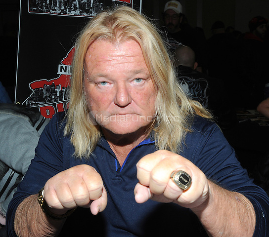 "NEW YORK, NY - MARCH 04:  Hall of Fame member Greg Valentine attends the ""Big Event"" at the LaGuardia Plaza Hotel on March 4, 2017 in New York City.  Photo by: George Napolitano/ MediaPunch"