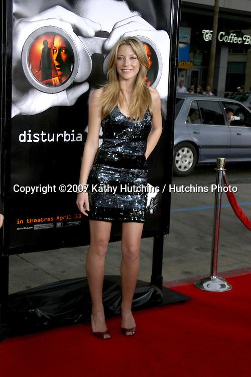 "Sarah Roemer.""Disturbia"" Premiere.Mann's Chinese Theater.Los Angeles, CA.April 3, 2007.©2007 Kathy Hutchins / Hutchins Photo...."