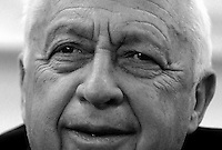 Israeli PM Ariel Sharon, Photo by Quique Kierszenbaum