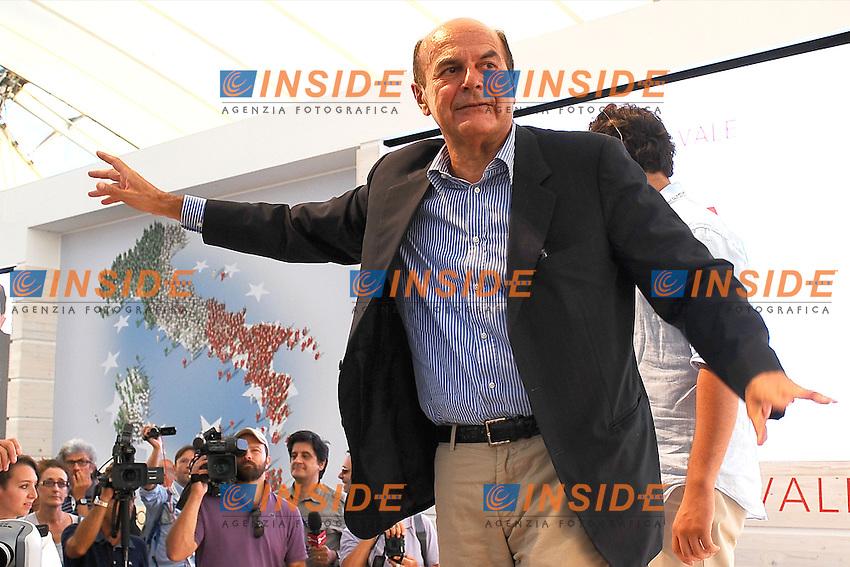 Pierluigi Bersani<br /> Genova 03-09-2013 Festa Nazionale Partito Democratico<br /> Photo  Genova Foto /Insidefoto
