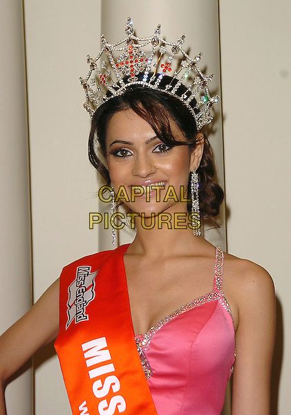 MISS ENGLAND - HAMMASA KOHISTANI.Children's Charity Ttrust Awards 2005 at the Grosvenor House Hotel, Park Lane, W1, London..September 28th, 2005.Ref: CAN.headshot portrait crown .www.capitalpictures.com.sales@capitalpictures.com.©Capital Pictures
