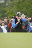 Ryder Cup 206 K Club, Straffin, Ireland...American Ryder Cup team player JKim Furyk on the green of the third hole during  the  morning fourballs session of the second day of the 2006 Ryder Cup at the K Club in Straffan, Co Kildare, in the Republic of Ireland, 23 September 2006...Photo: Eoin Clarke/ Newsfile.