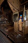 The Willamette Falls industrial area in Oregon City.