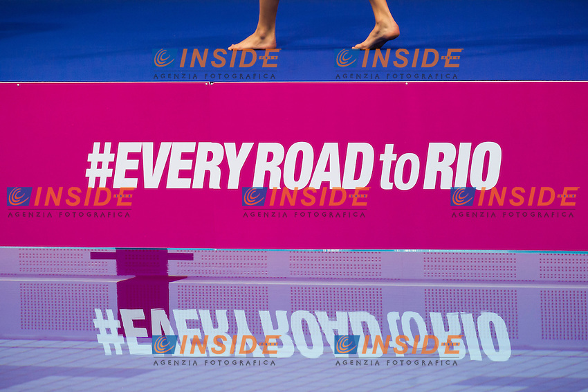 Hashtag EveryRoadToRio<br /> London, Queen Elizabeth II Olympic Park Pool <br /> LEN 2016 European Aquatics Elite Championships <br /> Synchro<br /> Solo free final <br /> Day 02 10-05-2016<br /> Photo Giorgio Perottino/Deepbluemedia/Insidefoto