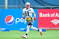 June 7, 2017: New England Patriots wide receiver Julian Edelman (11) takes part in the New England Patriots mini camp held on the practice field at Gillette Stadium, in Foxborough, Massachusetts. Eric Canha/CSM