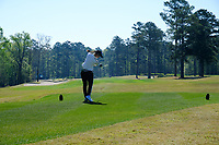 See-Yun Kwon (KOR) on the 2nd during the second round of the Augusta National Womans Amateur 2019, Champions Retreat, Augusta, Georgia, USA. 04/04/2019.<br /> Picture Fran Caffrey / Golffile.ie<br /> <br /> All photo usage must carry mandatory copyright credit (&copy; Golffile | Fran Caffrey)