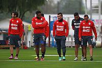 Selección  2014 Chile vs Peru entrenamiento 8/10