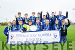 Dingle Bay Rovers Juniors winner of the U12 Shield Final against Killorglin at Mounthawk Park on Saturday