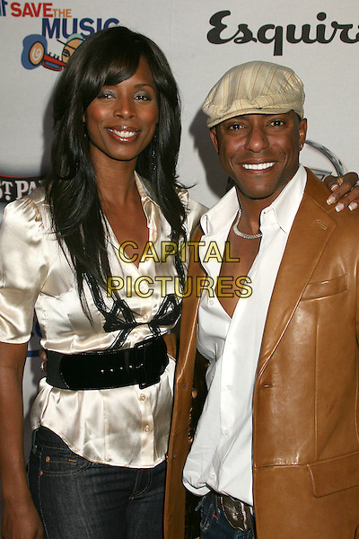 TASHA SMITH & JAVEN.VH1 Save The Music Foundation Benefit at Esquire House 360, Beverly Hills, California, USA.01 December 2006..half length.CAP/ADM/BP.©Byron Purvis/AdMedia/Capital Pictures.