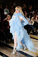 Ellie Rae Winstone at the Pam Hogg show during London Fashion Week AW18, at the Freemasons' Hall in London, UK. <br /> 16 February  2018<br /> Picture: Steve Vas/Featureflash/SilverHub 0208 004 5359 sales@silverhubmedia.com