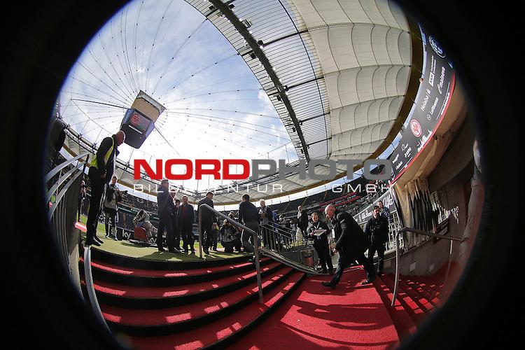 24.04.2016, Commerzbank Arena, Frankfurt, GER, 1.FBL, Eintracht Frankfurt vs 1. FSV Mainz 05<br /> Trainer Niko Kovac (Frankfurt)<br /> <br /> <br /> <br /> Foto &copy; nordphoto /  Bratic