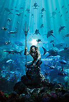 Aquaman (2018) <br /> Promotional art with Jason Momoa<br /> *Filmstill - Editorial Use Only*<br /> CAP/MFS<br /> Image supplied by Capital Pictures
