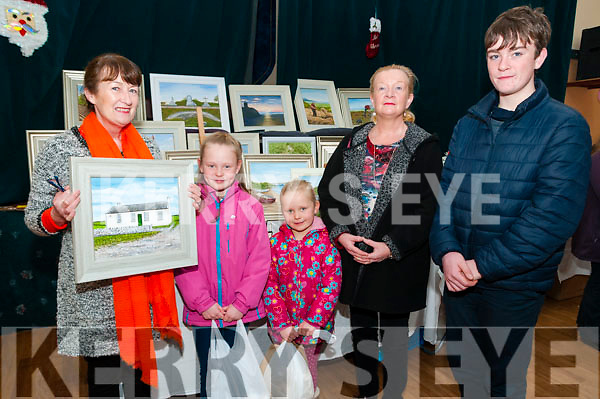 Attending the Ballyduff Craft Fair held in the Community Centre on Sunday last were Betty Enright, Holly and Ruby Boyle, Elma and Jack O'Sullivan.